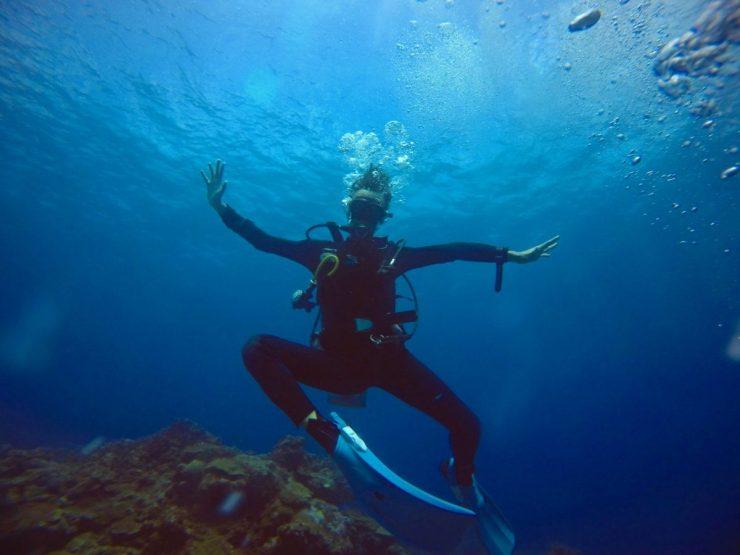 蘭嶼體驗潛水